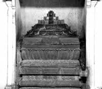Sri Chakra at Ramanashramam