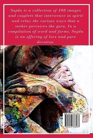 Sajda Book by Dr Pallavi Kwatra - Back Cover