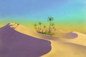 THE MISPLACED OASIS.